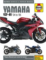 Manual 4605 YAM YZF-R1 & SP 04-06 by Haynes