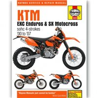Haynes  Manual 4629 KTM EXC ENDURO & SX Motocross 00-07