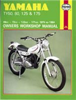 Haynes  Manual 464 YAM TY SERIES
