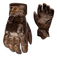 RST IOM TT Hillberry CE Motorcycle Glove (Brown) 2240