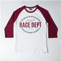 RST Ladies Original 1988 T-Shirt (White/Burgundy)
