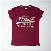 RST Ladies Premium Goods T-Shirt 0179 (Burgundy)