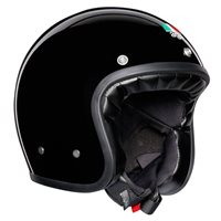 AGV X70 Mono Open Face Helmet (Black)