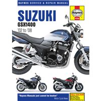 Haynes  Manual 4758 Suzuki GSX1400 02-07