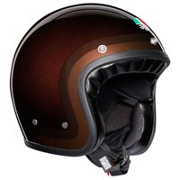 AGV X70 Trofeo Open Face Helmet (Chocolate)