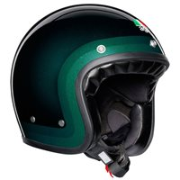 AGV X70 Trofeo Open Face Helmet (Green)