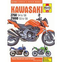 Haynes  Manual 4762 Kawasaki Z750 / Z1000 03-08