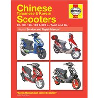 Haynes  Manual 4768 Chinese Scooters