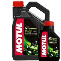 MOTUL 5100 10W40 4T High Performance Semi Synthetic Oil