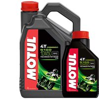 MOTUL 5100 10W50 4T High Performance Semi Synthetic Oil