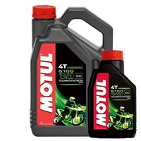 MOTUL 5100 15W50 4T High Performance Semi Synthetic Oil