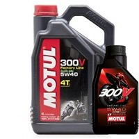 MOTUL 300V 5W40 Factory Line Race 100% Synthetic Oil