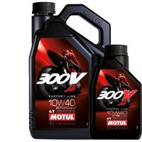 MOTUL 300V 10W40 Factory Line Race 100% Synthetic Oil