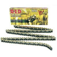 DID 525 VX GB Gold Coloured X Ring Chain (112 Links)
