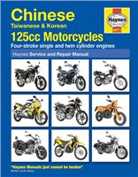 Haynes  Manual 4871 Chinese; Taiw. & Korean 125cc M/C