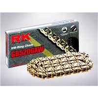 RK 520 GXW Gold Xtreme X-RING Road Bike Chain (124 Link)