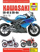 Haynes  Manual 4874 Kawasaki ER-6 (05-09)