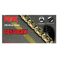 RK 530 GXW Gold Xtreme X-RING Road Bike Chain (116 Link)