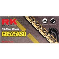 RK GB525 XSO Gold X-RING Road Bike Chain (116 Link)