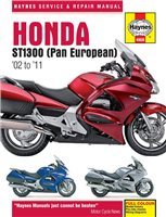 Haynes  Manual 4908 Honda ST 1300 Pan European 02-11