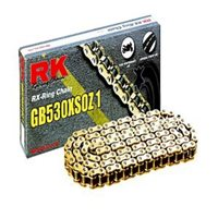 RK GB530 XSO/Z1 Gold X-RING Road Bike Chain (124 Link)