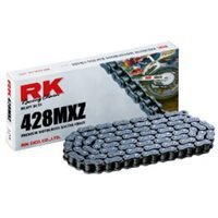 RK 428MXZ Silver Motocross Chain (132 Links)