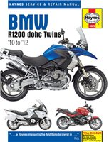 Haynes  Manual 4925 BMW R1200 dohc (10-12)