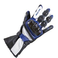 Richa Ravine Motorcycle Gloves (Black/Blue)