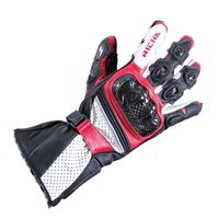 Richa Ravine Motorcycle Gloves (Black/Red)