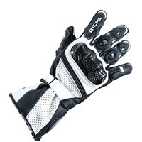 Richa Ravine Motorcycle Gloves (Black/White)