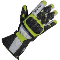 Richa Ravine Motorcycle Gloves (Black/Yellow)