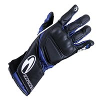 Richa WSS Motorcycle Gloves (Black/Blue)