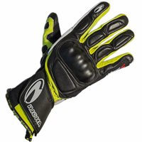 Richa WSS Motorcycle Gloves (Black/Yellow)