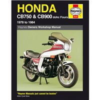 Haynes  Honda CB750 & CB900 dohc Fours (78 - 84) Repair Manual