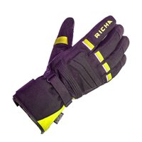 Richa Peak Gloves (Black/Fluo Yellow)
