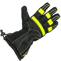 Richa Probe Motorcycle Gloves (Black/Fluo Yellow)