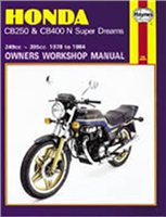 Haynes  Manual 540 HON CB250N/400N SUPER DREAM 78-84+T11329