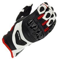 Richa Stealth Gloves (Black/White/Red)