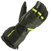 Richa Mountain Gore-Tex Gloves (Black/Fluo Yellow)
