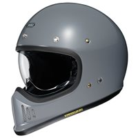 Shoei Ex-Zero Motorcycle Helmet (Basalt Grey)