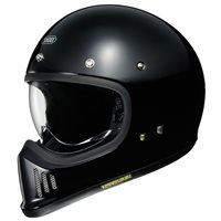 Shoei Ex-Zero Motorcycle Helmet (Black)
