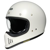 Shoei Ex-Zero Motorcycle Helmet (Off White)