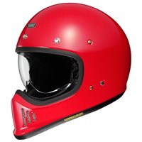 Shoei Ex-Zero Motorcycle Helmet (Shine Red)