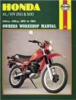 Haynes  Manual 567 HON XL/XR 250-500 78-84+T11320