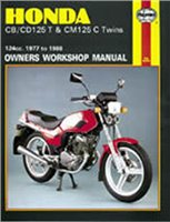 Haynes  Manual 571 HON CB125T TWINS
