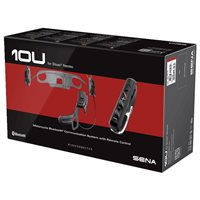 Sena 10U Motorcycle Intercom System With RC4 Remote - Shoei Neotec