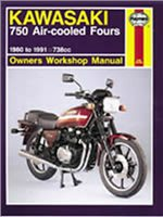 Haynes  Manual 574 KAW KZ/Z750 FOURS