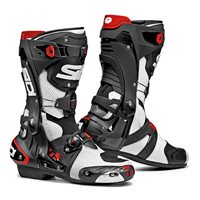 Sidi REX Air CE Motorcycle Boots (White|Black) - Special Order