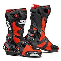 Sidi REX CE Motorcycle Boots (Flo Red|Black)