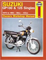 Haynes  Manual 576 SUZ GP100/125 SINGLES